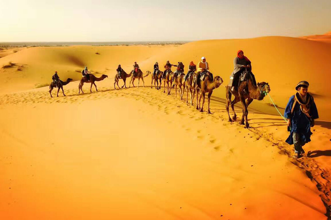 4 Days/ 3 Nights Desert Tour from Fes to Fes